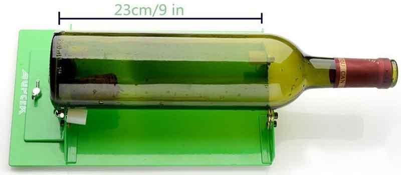 Tagliare Bottiglie Di Vetro.Tagliare Bottiglie Di Vetro Con Un Cutter Taglia Vetro A