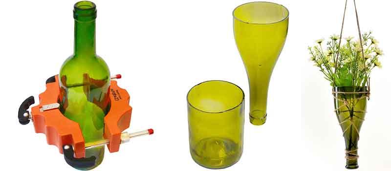 Taglia Bottiglie Di Vetro.Tagliare Una Bottiglia Di Vetro Con Un Cutter Taglia Vetro Rotante