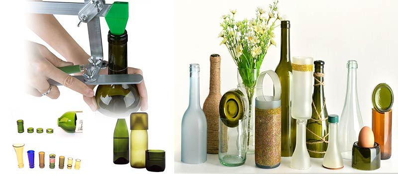 Tagliare Bottiglie Di Vetro.Come Tagliare Bottiglie Di Vetro Con Un Taglia Bottiglia A
