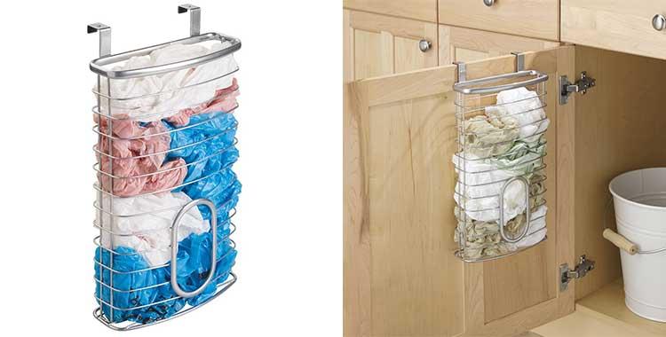 Porta buste di plastica classici e design i sacchetti a - Porta sacchetti plastica ...