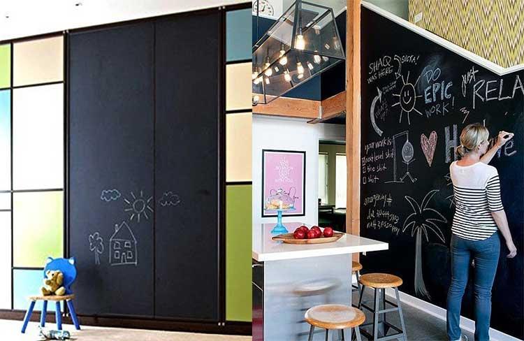 Pareti Lavagna Magnetica : Lavagna magnetica cucina moderna lavagna magnetica in pino