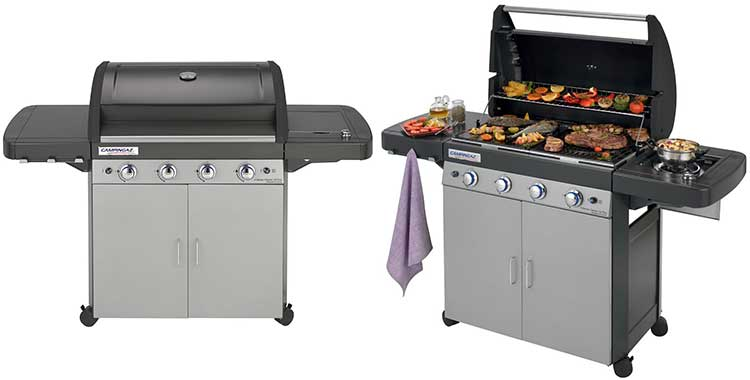 Barbecue moderni da giardino i migliori bbq per cuocere - Bbq da giardino ...