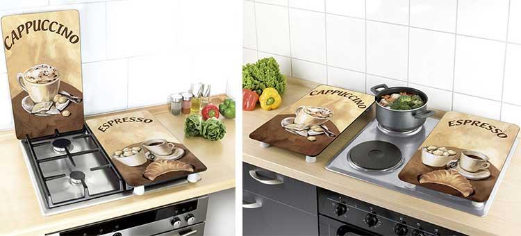 Copri Top Cucina.Coprifornelli In Vetro Per Piano Cottura Cucina I