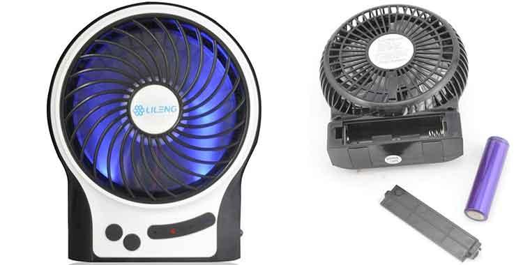 Ventilatore portatile a batteria e da tavolo ecco i migliori - Ventilatore da tavolo usb ...
