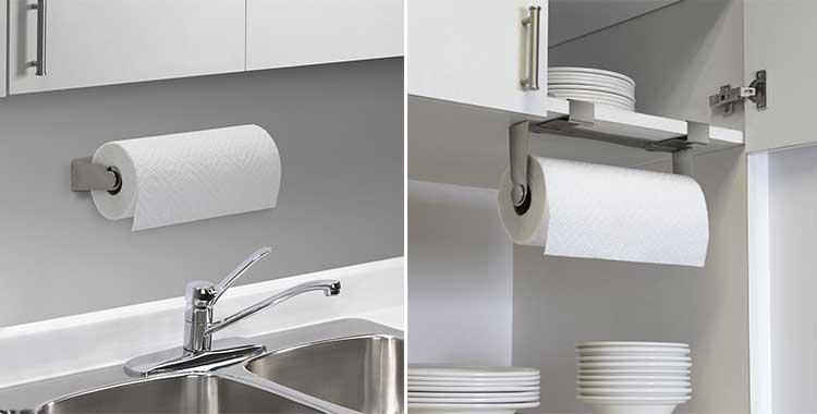 Porta rotolo scottex da cucina 5 differenti e pratiche - Porta scottex da parete ...