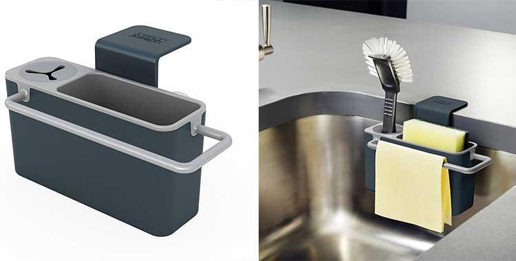 Porta spugne cucina 6 soluzioni per ordinare la zona lavello - Ikea porta spugne ...